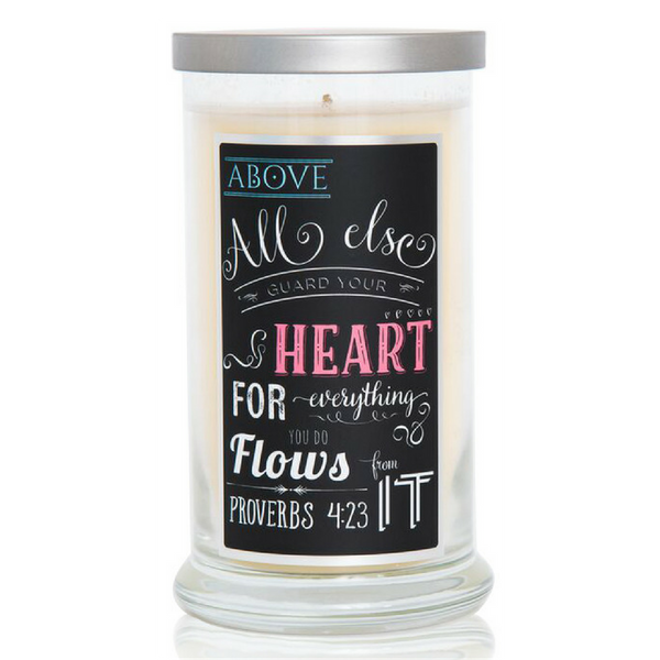 Compassion Candle - Proverbs 4:23 (16oz)