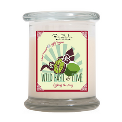 Wild Basil & Lime | Medium Signature Glass (12oz)