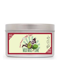 Wild Basil & Lime | Medium Signature Tin (8oz)