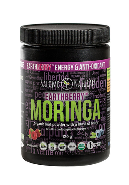 Organic EarthBerry Moringa Leaf Powder