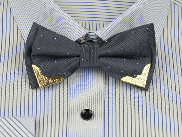 Gold Embellished Bow Ties - life after yes