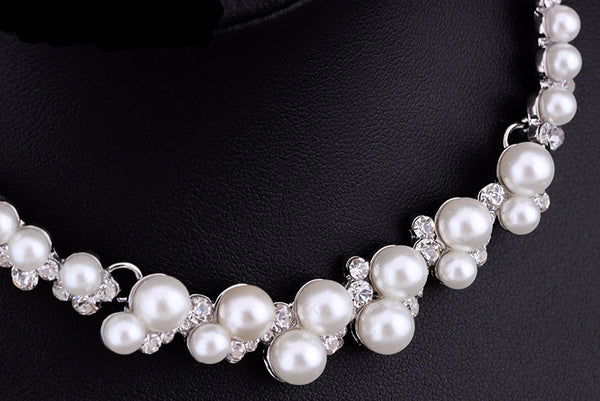 Bridal Wedding Jewelry Set with Pearls - life after yes