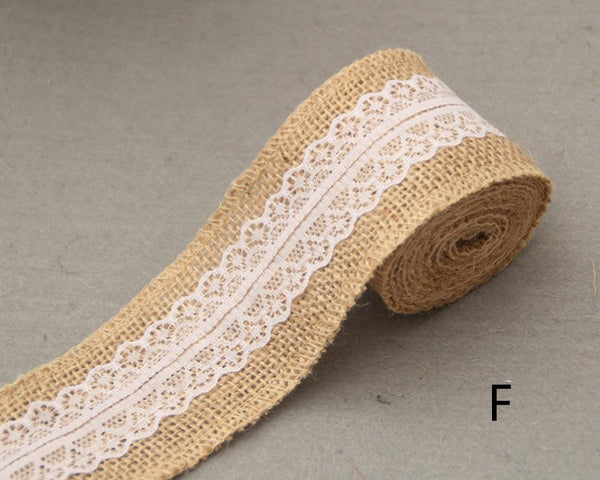 Burlap and Lace Roll - life after yes