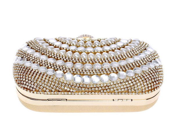 Priscilla Diamond Evening Bag