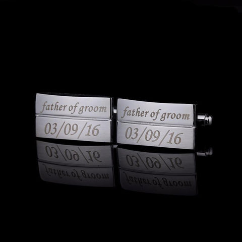 Custom Engraved Cufflinks - life after yes
