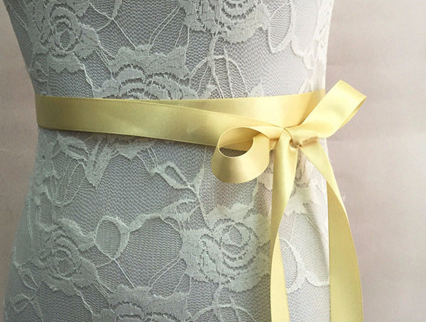 Beaded Crystal and Pearl Bridal Sash - life after yes