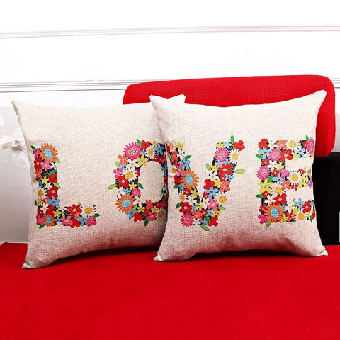 LOVE Pillow Case Covers - life after yes