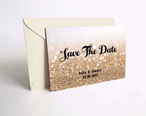 Thank You or Save the Date Personalized Cards - life after yes