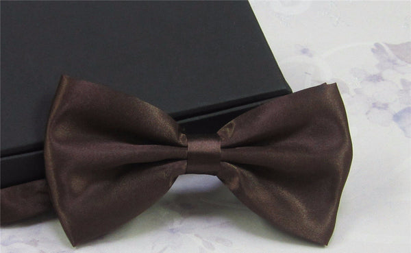 Classic Solid Color Bow tie
