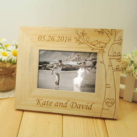 Personalized Wedding Gift Frame - life after yes