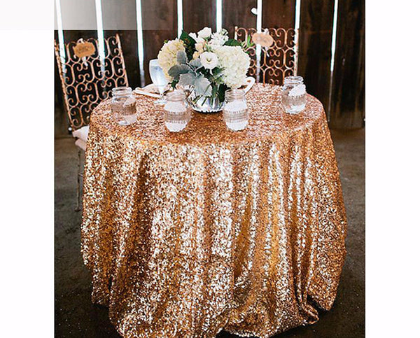 Round Sequins Tablecloth - life after yes