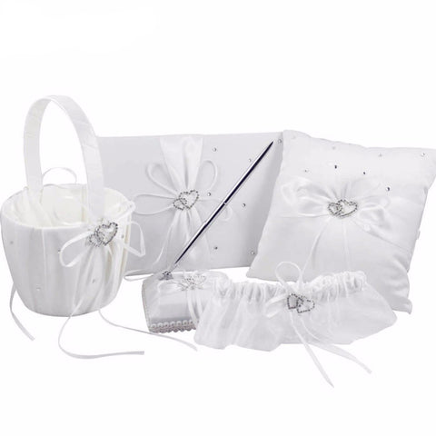 Elegant 6-piece Wedding Day Set - life after yes