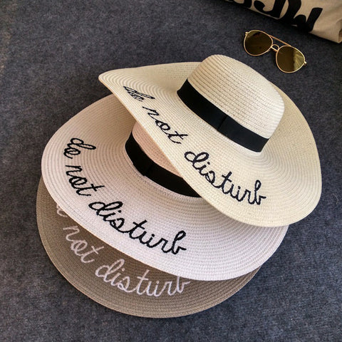 """Do not disturb"" Honeymoon Hat"