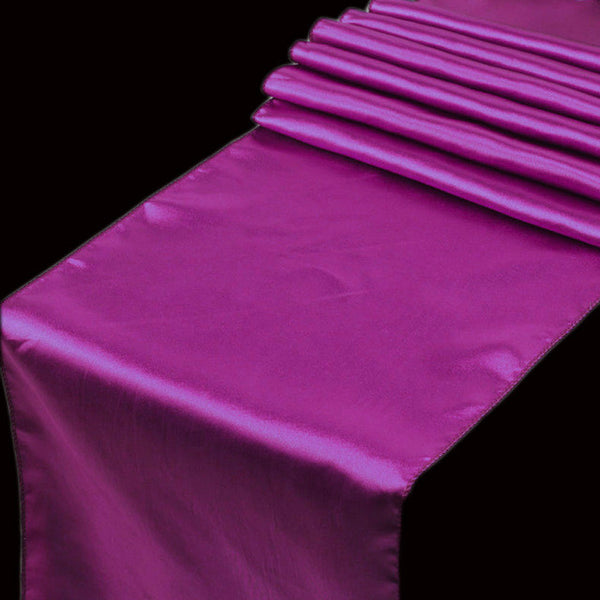 Satin Table Runner in 21 Colors - life after yes