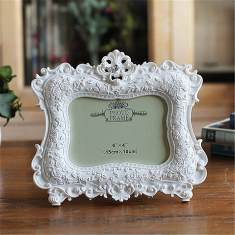 White Rose Wedding Frame - life after yes