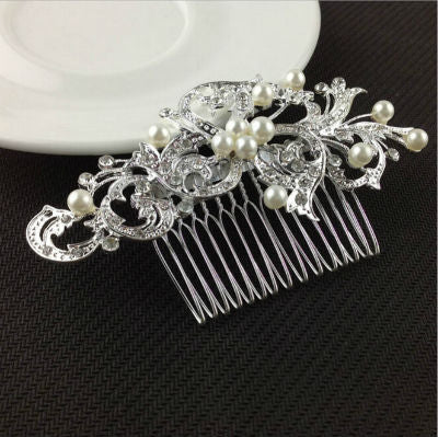 Crystal Bridal Hairpieces (6 Options) - life after yes