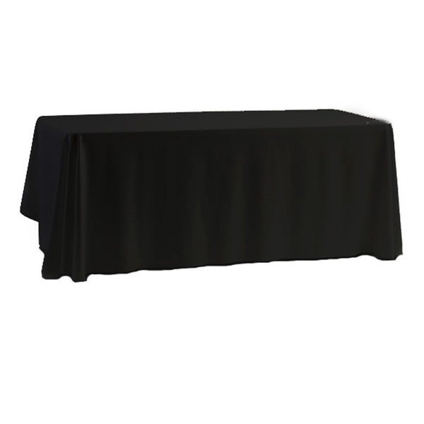 Rectangular Tablecloth in Black or White