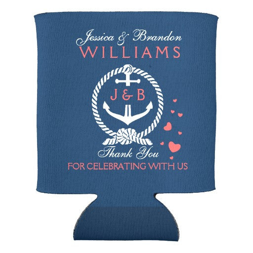 Custom Nautical Koozie - life after yes
