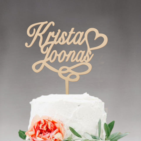 19 Different Styles of Cake Toppers - life after yes