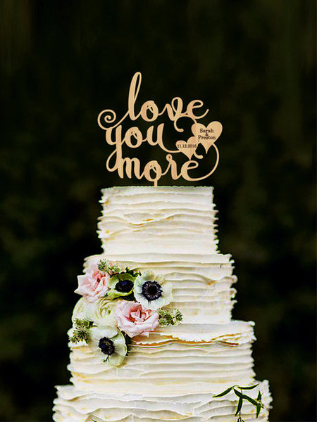 19 Different Styles of Cake Toppers