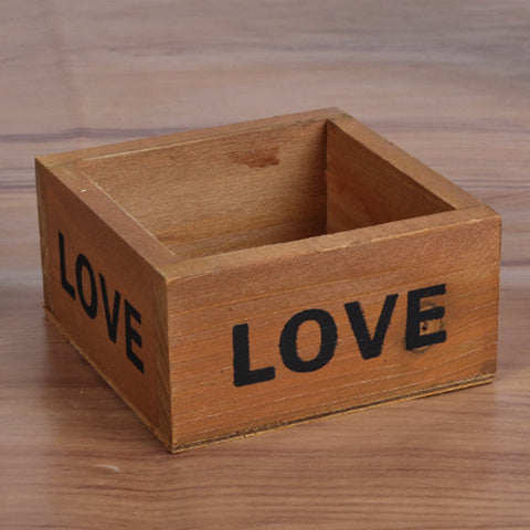 Vintage Love Flower Box - life after yes