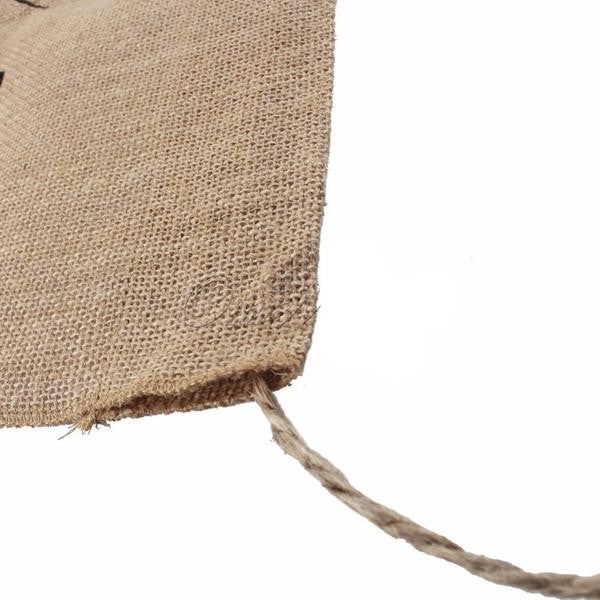 """Here Comes the Bride"" Burlap Banner - life after yes"