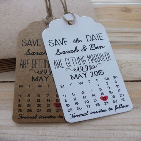 Save The Date Custom Tag