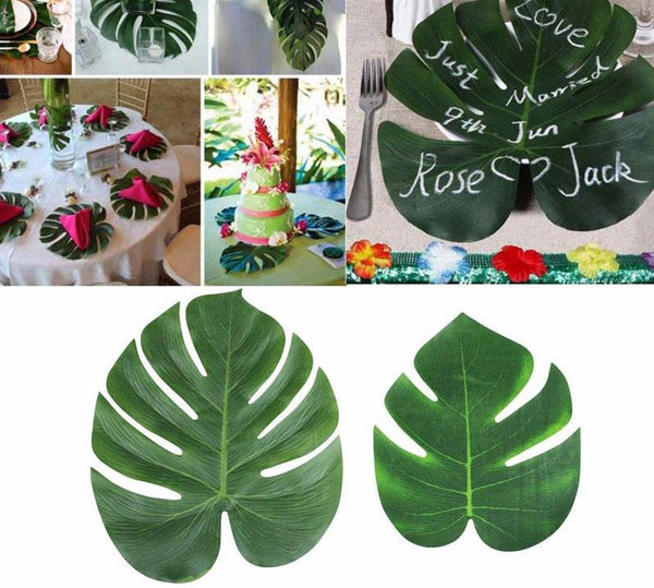 Artificial Tropical Palm Leaves