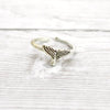 Whale Tail Toe Ring