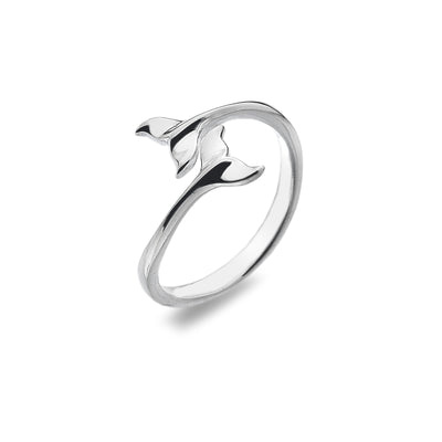 Extendable Whale Tail Ring