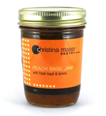 Peach Basil & Lemon Jam