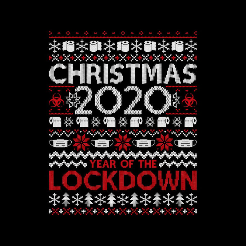 Christmas 2020 Year Of The Lockdown Women's T-Shirt - coto7