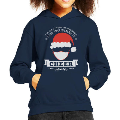 The Only Thing Im Spreading This Christmas Is Cheer Kid's Hooded Sweatshirt - coto7