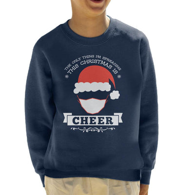 The Only Thing Im Spreading This Christmas Is Cheer Kid's Sweatshirt - coto7