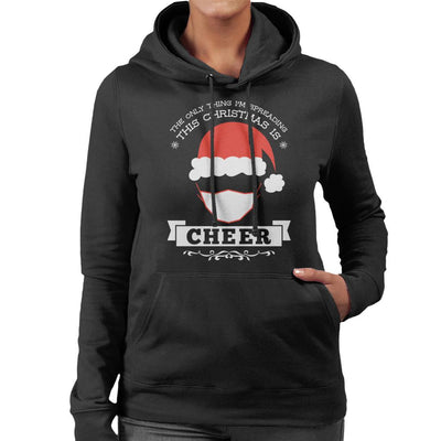 The Only Thing Im Spreading This Christmas Is Cheer Women's Hooded Sweatshirt - coto7