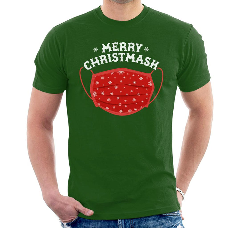 Merry Christmask Men's T-Shirt - coto7