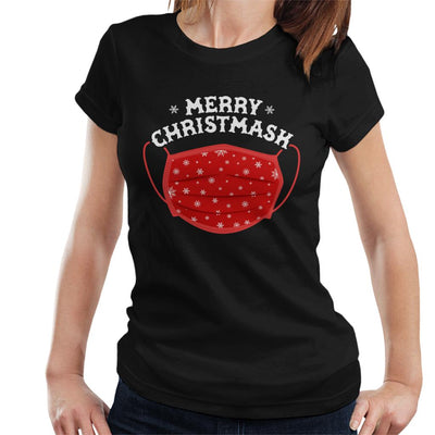 Merry Christmask Women's T-Shirt - coto7