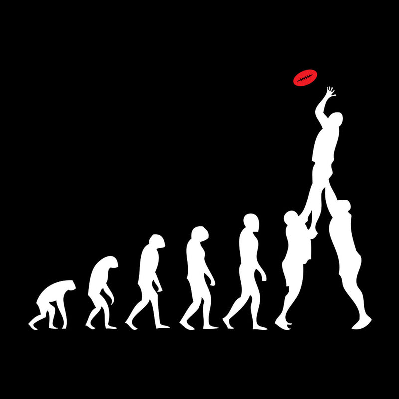 Rugby Evolution Of Man