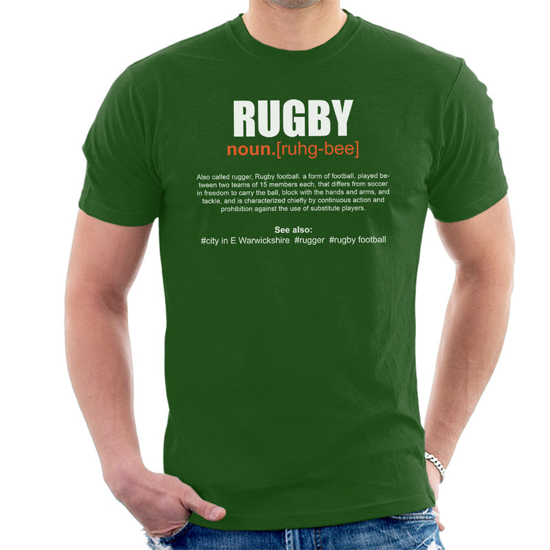 Rugby Definition Men's T-Shirt - coto7