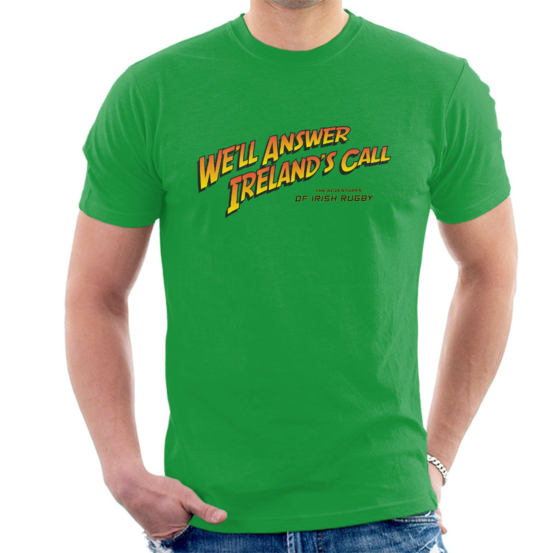 Indiana Jones Irelands Call Irish Rugby Men's T-Shirt