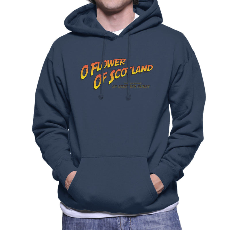 Indiana Jones O Flower Of Scotland Scottish Rugby Men's Hooded Sweatshirt - coto7