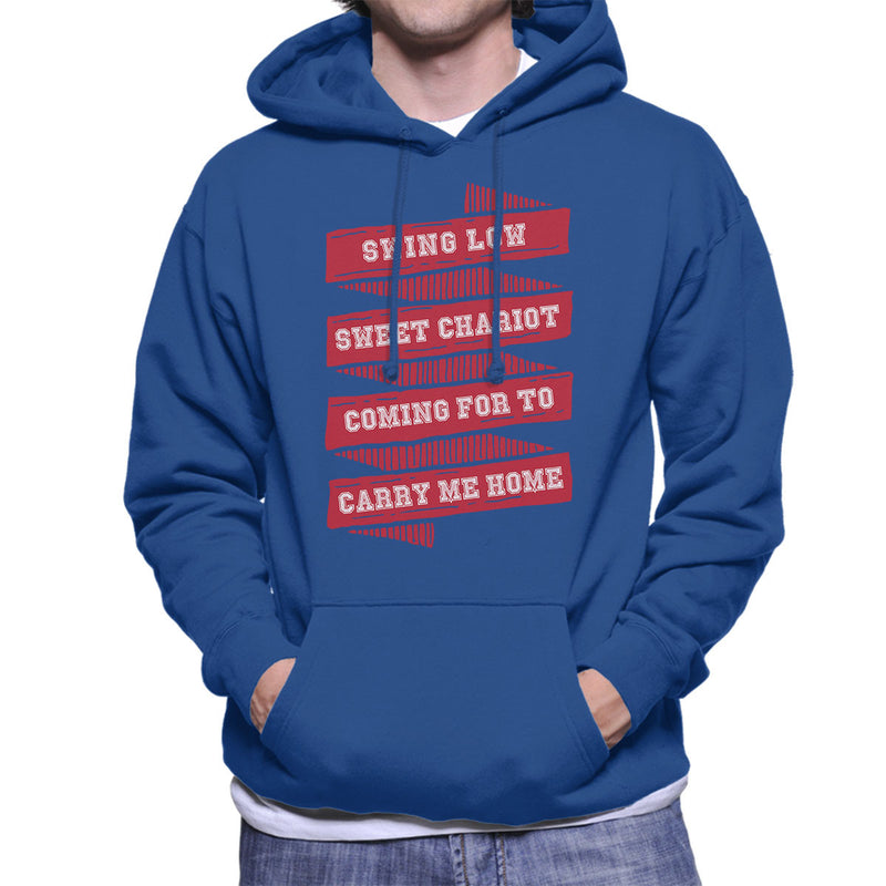 Rugby England Swing Low Sweet Chariot Banner Men's Hooded Sweatshirt - coto7