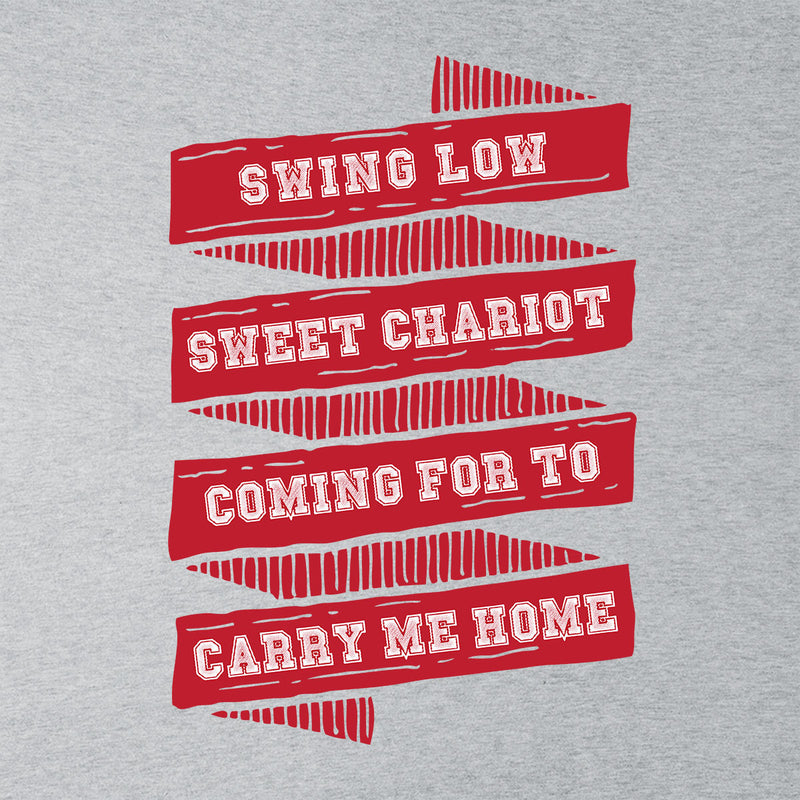 Rugby England Swing Low Sweet Chariot Banner Men's T-Shirt - coto7