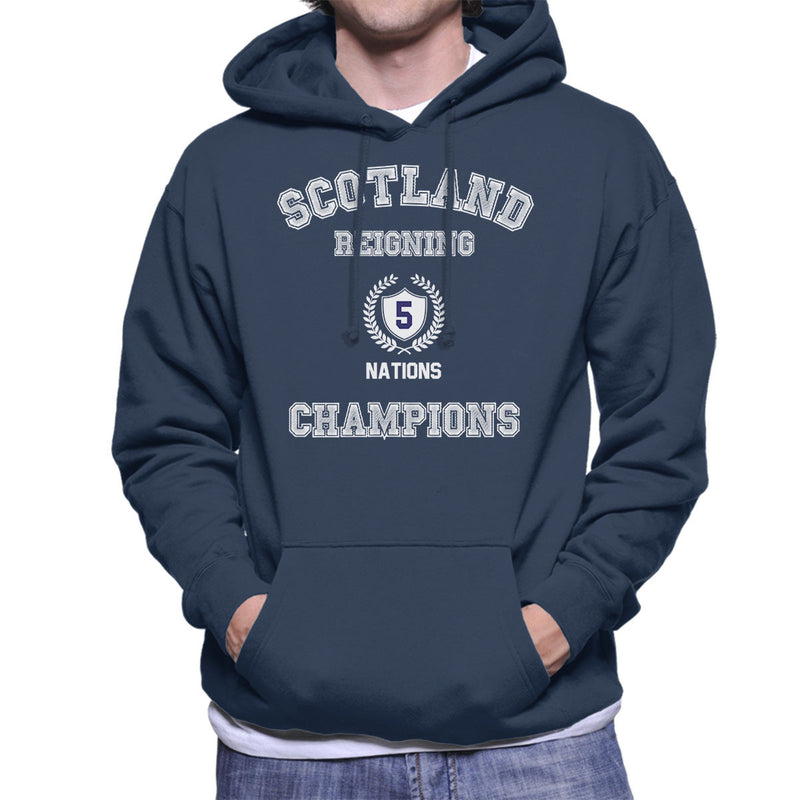 Rugby Scotland Reigning 5 Nations Champions Men's Hooded Sweatshirt