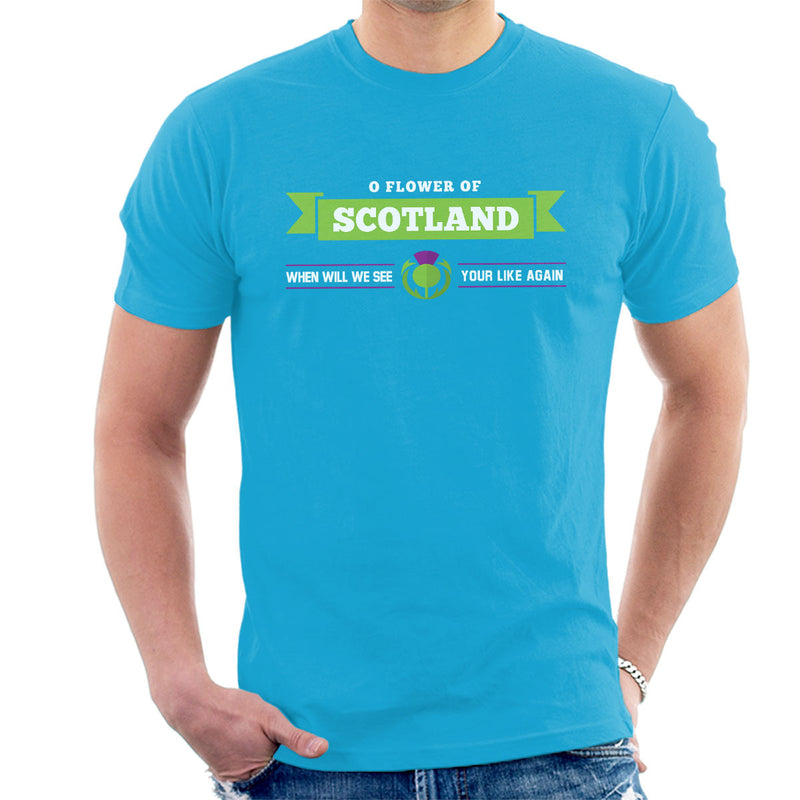 Rugby Scotland When Will We See Your Like Again Men's T-Shirt - coto7