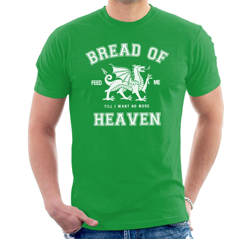 Rugby Welsh Hymn Bread Of Heaven Dragon Men's T-Shirt - coto7