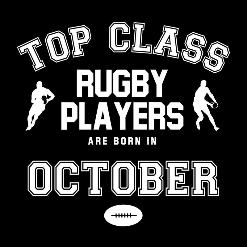 Top Class Rugby Players Are Born In October - coto7