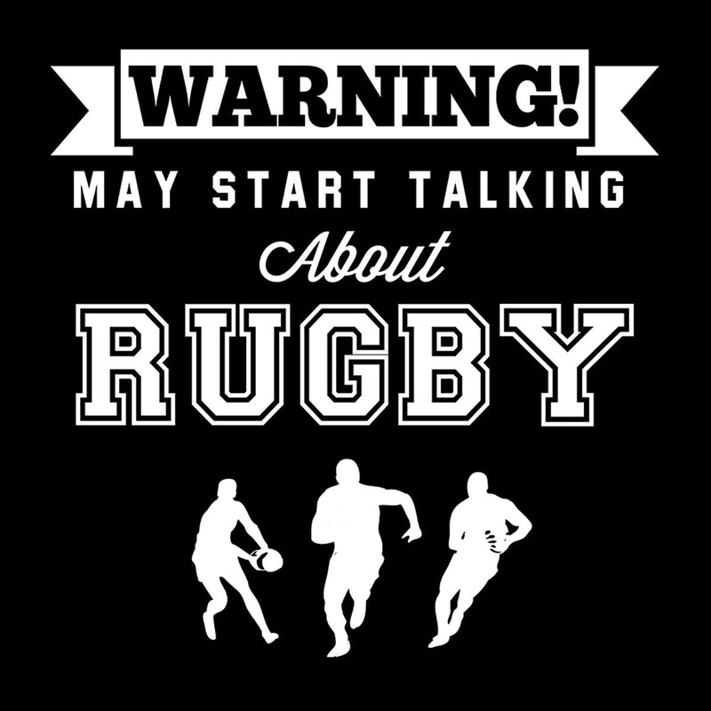 Rugby Warning May Start Talking About Rugby Men's T-Shirt - coto7