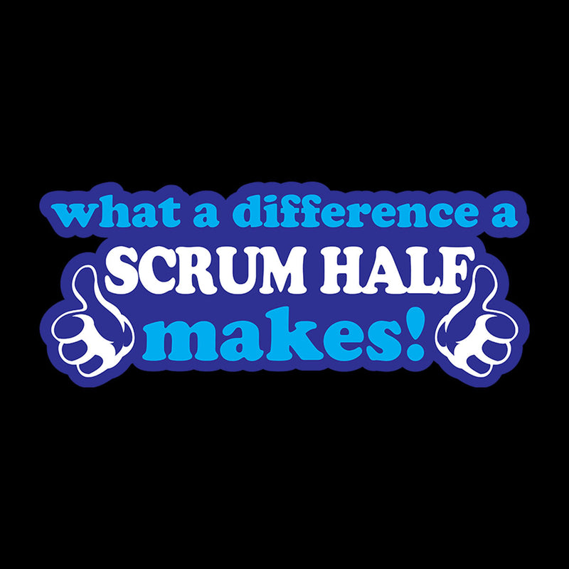 What A Difference A Scrum Half Makes
