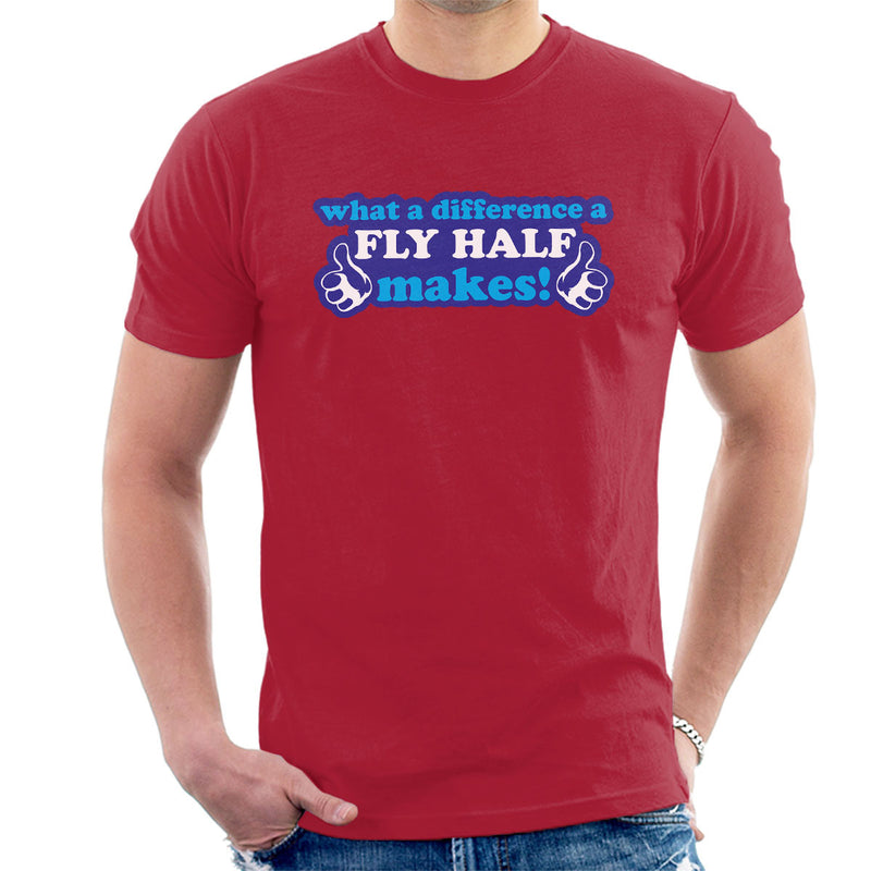 What A Difference A Fly Half Makes Men's T-Shirt - coto7